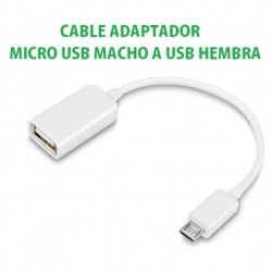 CABLE - MICRO USB A USB