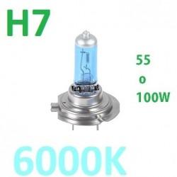 BOMBILLA H7 HALOGENA 55-100W EFECTO XENON