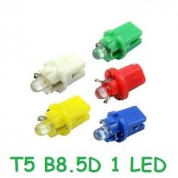 BOMBILLA T5 B8.5D 1 LED