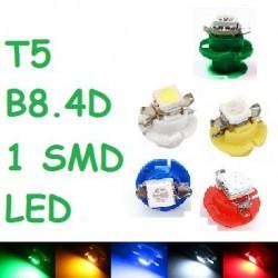BOMBILLA T5 B8.4D 1 SMD LED 5050