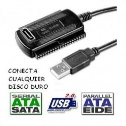 ADAPTADOR IDE SATA USB