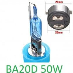 BOMBILLA BA20D 50W Luz blanca
