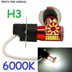 BOMBILLA LED H3 LUZ ANTI NIEBLA