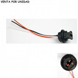 CONECTOR DE RECAMBIO BOMBILLA T20 7443 7440 580 W21/5W W21W CUÑA
