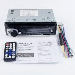 RADIO BLUETOOTH MP3 1 DIN MANOS LIBRES USB SD COCHE