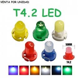 BOMBILLA LED T4.2 COB LUZ CUADRO INSTRUMENTOS