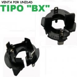 Clip Adaptador Bombilla H7 Xenon VW Golf Jetta y Similares Tipo BX