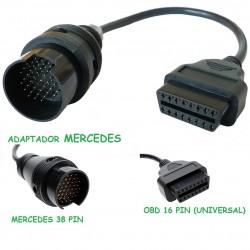 ADAPTADOR OBD MERCEDES 38 PIN