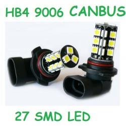 BOMBILLA HB4 9006 LED 27 SMD LED CANBUS.